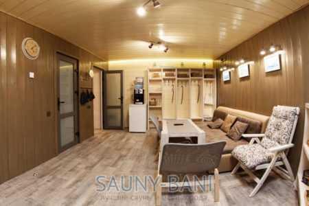 Сауна в гостевом дом-бане DOM15 (ДОМ15)